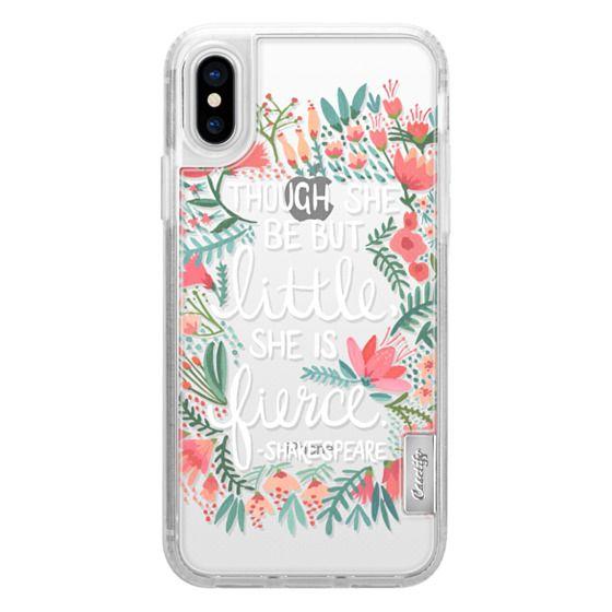iPhone X Cases - Little & Fierce – Transparent