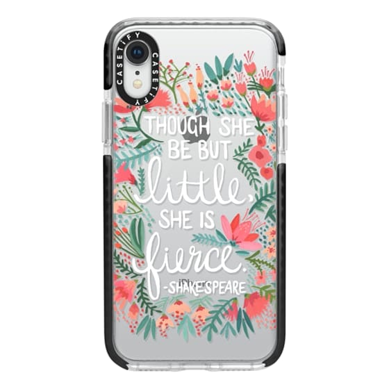 huge selection of f014f 6e890 Impact iPhone XR Case - Little & Fierce – Transparent