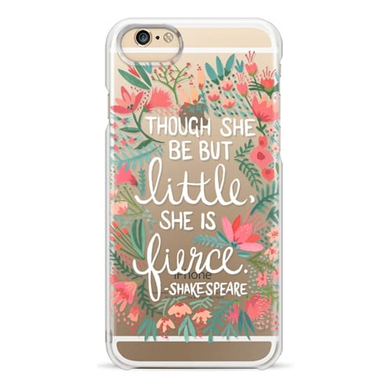 iPhone 6 Cases - Little & Fierce – Transparent