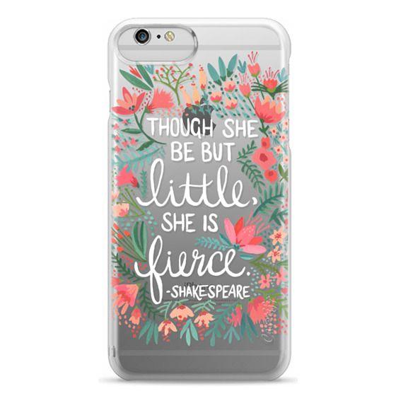 iPhone 6 Plus Cases - Little & Fierce – Transparent