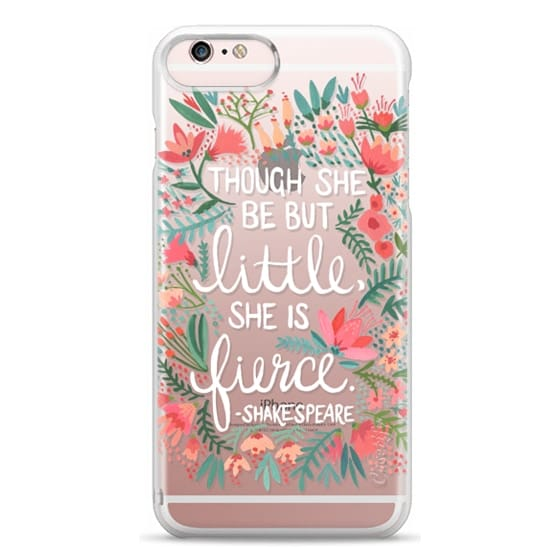 iPhone 6s Plus Cases - Little & Fierce – Transparent