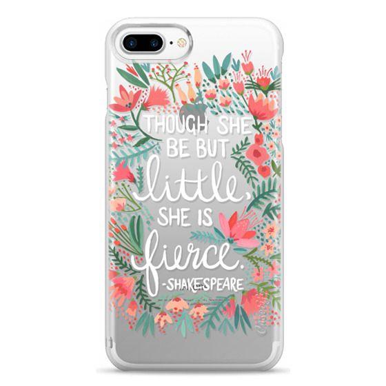 iPhone 7 Plus Cases - Little & Fierce – Transparent