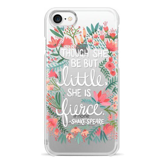 iPhone 7 Cases - Little & Fierce – Transparent