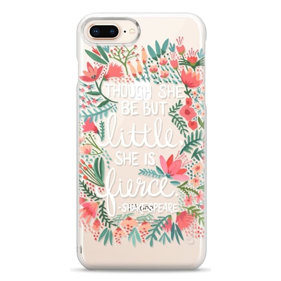 iPhone 8 Plus Cases - Little & Fierce – Transparent