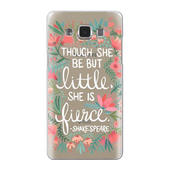 Samsung Galaxy A5 Cases - Little & Fierce – Transparent