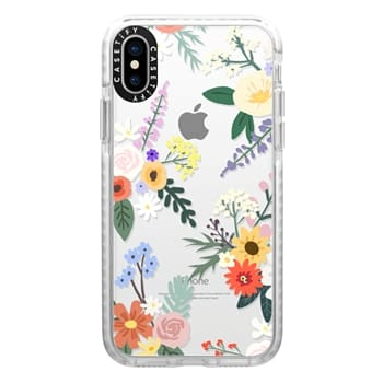 Impact iPhone X Case - ALLIE ALPINE FLORALS