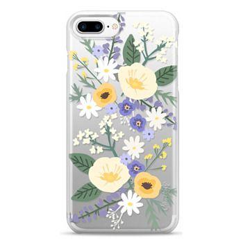 Snap iPhone 7 Plus Case - VERONICA VIOLET FLORAL MIX