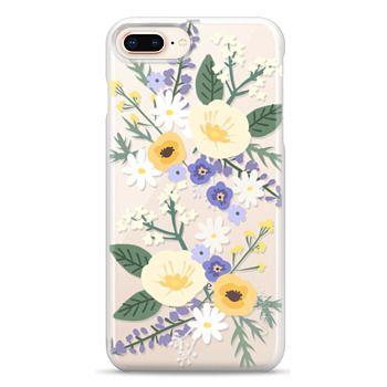 Snap iPhone 8 Plus Case - VERONICA VIOLET FLORAL MIX