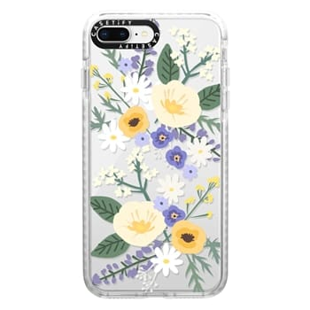 Impact iPhone 8 Plus Case - VERONICA VIOLET FLORAL MIX