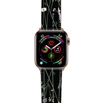 Apple Watch Band  - Gigi Garden Florals - Black