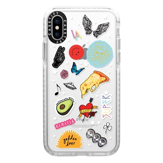 iPhone X Cases - L.A. LOVE STICKERS