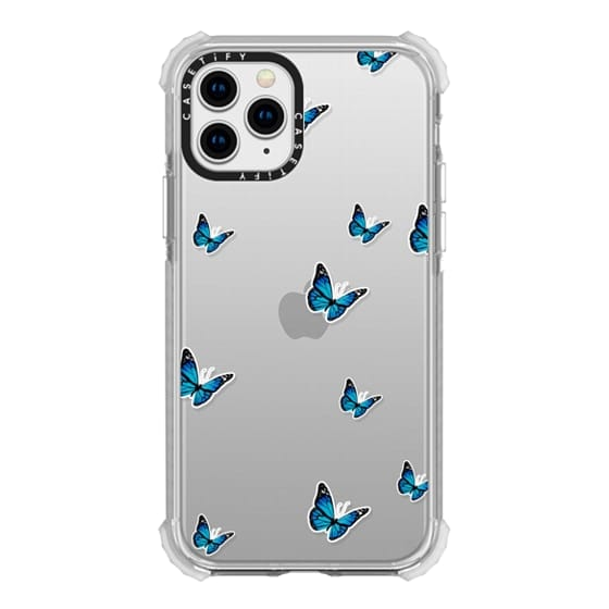 iPhone 11 Pro Cases - WILD N BLUE STICKERS CASE