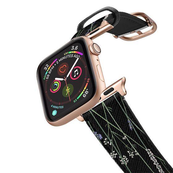 Apple Watch 38mm Bands - Gigi Garden Florals - Black