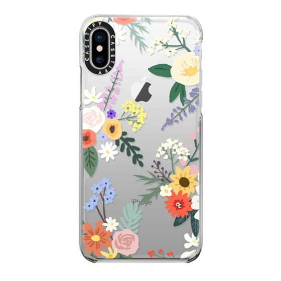 iPhone X Cases - ALLIE ALPINE FLORALS