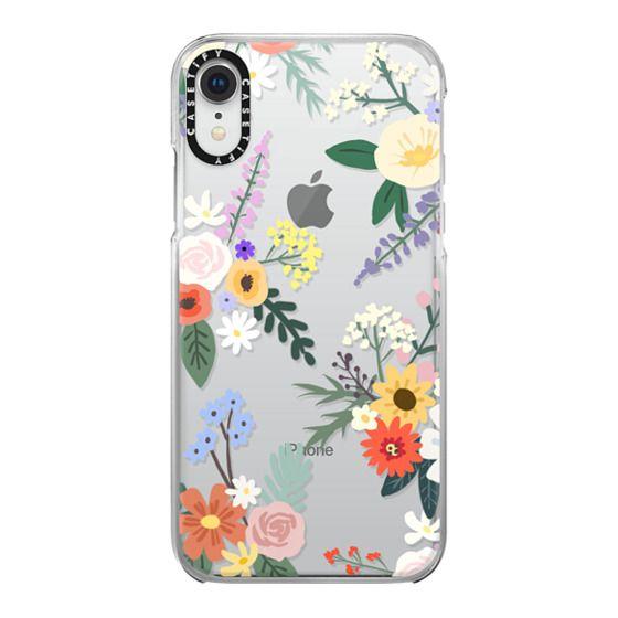 iPhone XR Cases - ALLIE ALPINE FLORALS