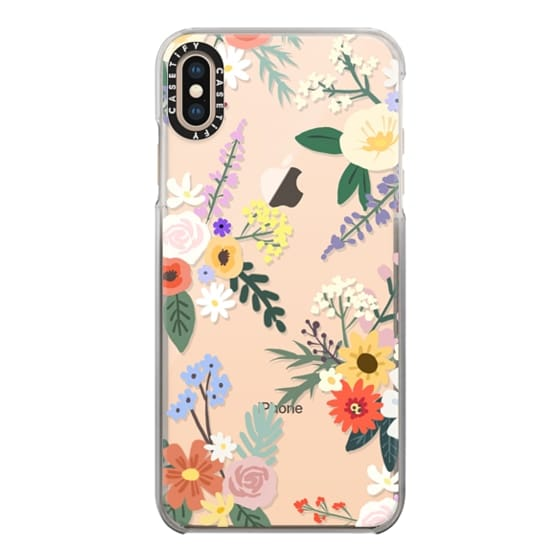 iPhone XS Max Cases - ALLIE ALPINE FLORALS