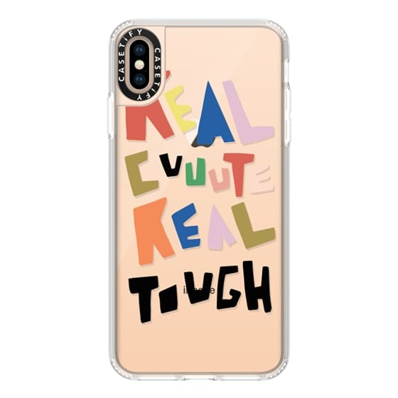 iPhone XS Max Cases - REAL CUTE REAL TOUGH
