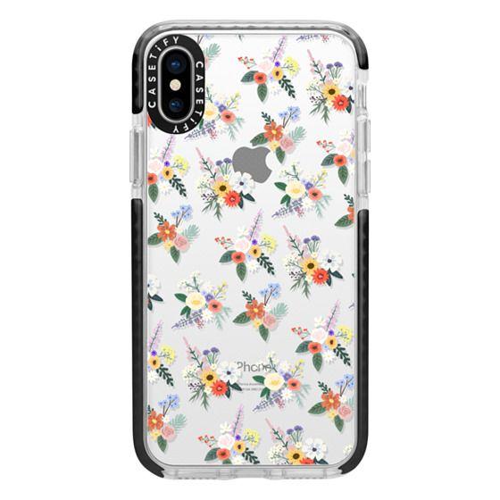 iPhone X Cases - ALLIE ALPINE FLORALS - DITSY