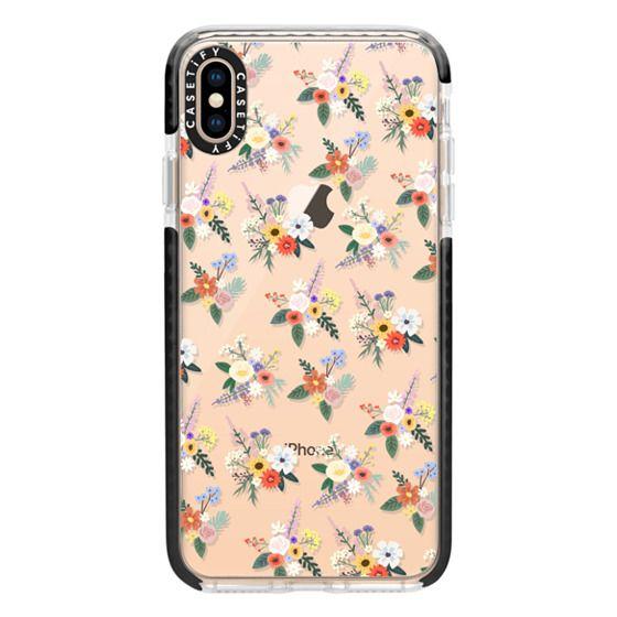 iPhone XS Max Cases - ALLIE ALPINE FLORALS - DITSY
