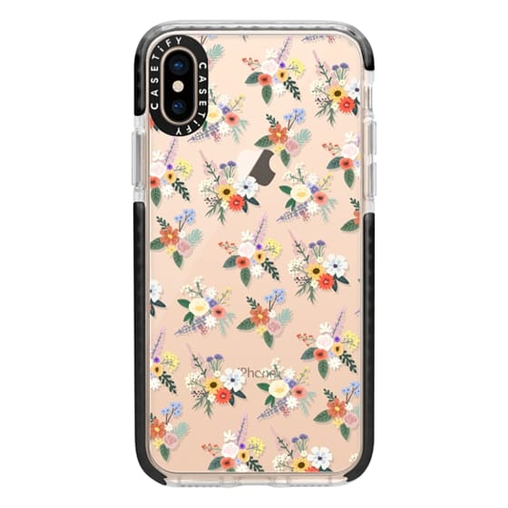 iPhone XS Cases - ALLIE ALPINE FLORALS - DITSY