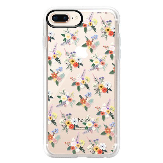 iPhone 8 Plus Cases - ALLIE ALPINE FLORALS - DITSY