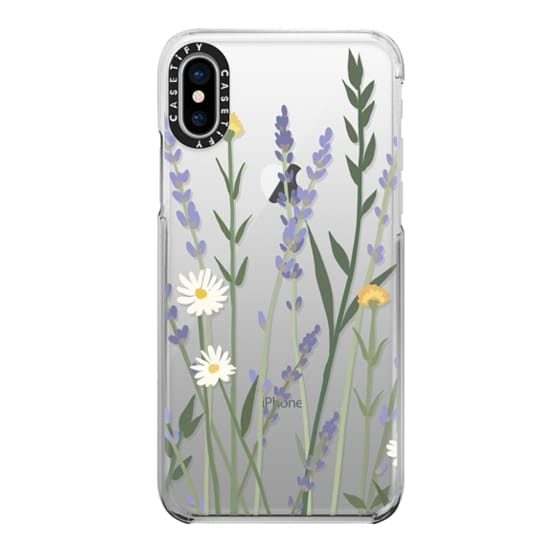 iPhone X Cases - LANA LAVENDER MIX