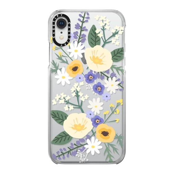 iPhone XR Cases - VERONICA VIOLET FLORAL MIX