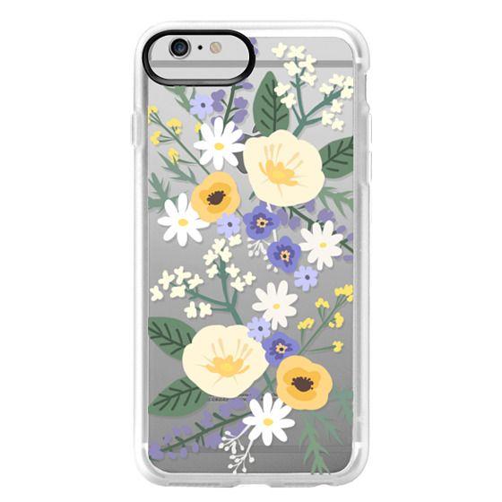 iPhone 6 Plus Cases - VERONICA VIOLET FLORAL MIX