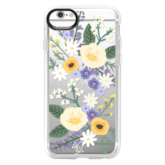 iPhone 6s Cases - VERONICA VIOLET FLORAL MIX