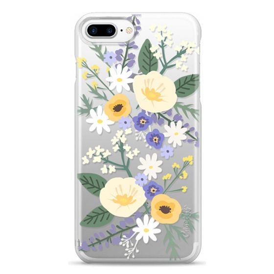 iPhone 7 Plus Cases - VERONICA VIOLET FLORAL MIX