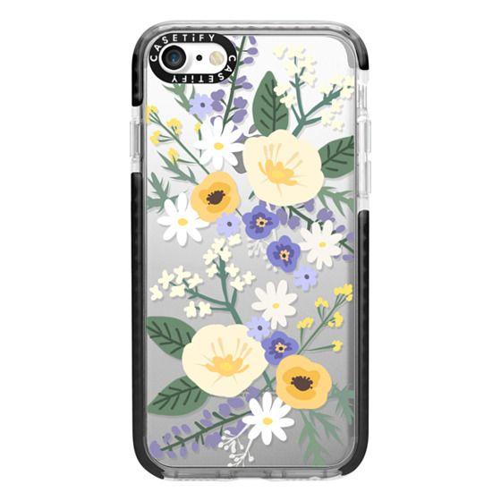 iPhone 7 Cases - VERONICA VIOLET FLORAL MIX
