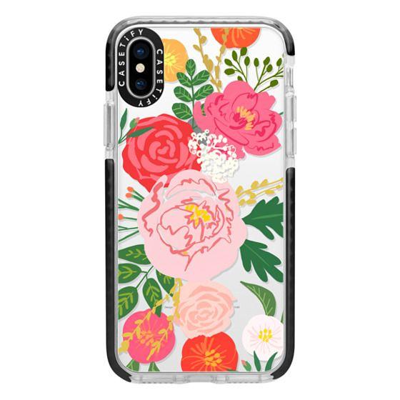 iPhone X Cases - ADELINE FLORALS