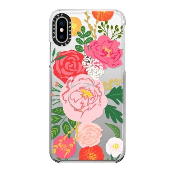 iPhone X Cases - ADELINE FLORALS
