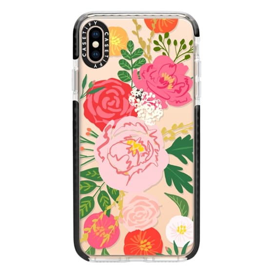iPhone XS Max Cases - ADELINE FLORALS