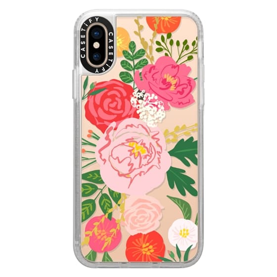 iPhone XS Cases - ADELINE FLORALS