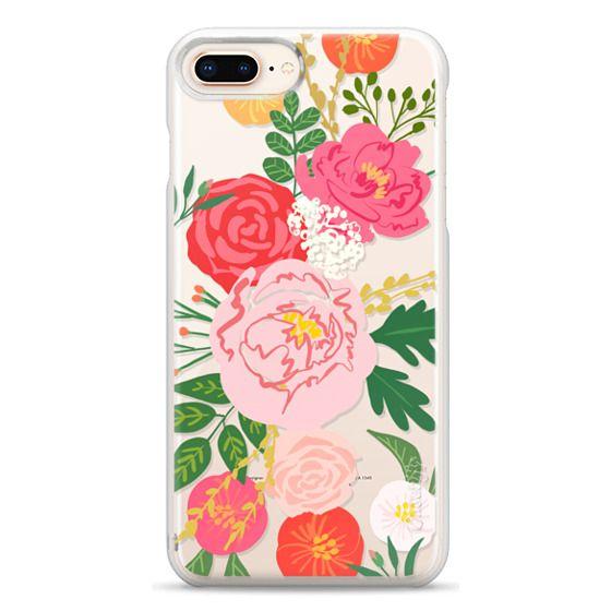 iPhone 8 Plus Cases - ADELINE FLORALS
