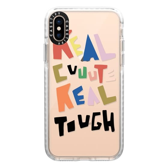 iPhone XS Cases - REAL CUTE REAL TOUGH