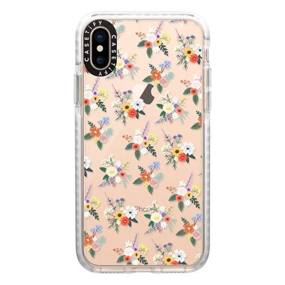 iPhone XS Cases - ALLIE ALPINE FLORALS - DITSY