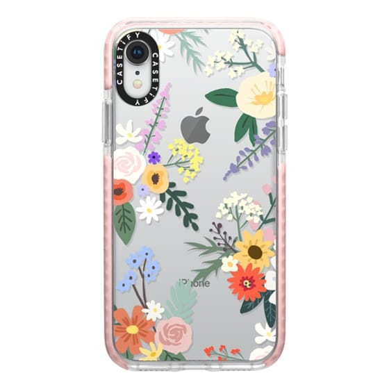 iPhone XR Cases - ALLIE ALPINE FLORALS