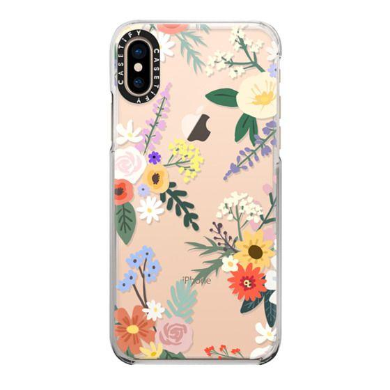 iPhone XS Cases - ALLIE ALPINE FLORALS