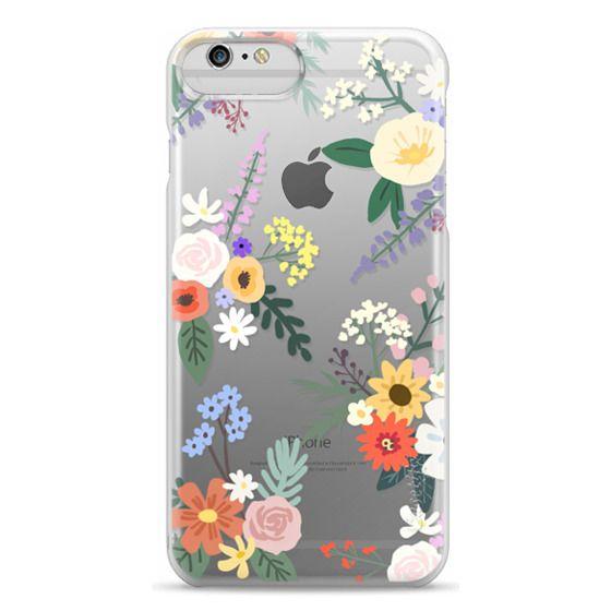 iPhone 6 Plus Cases - ALLIE ALPINE FLORALS