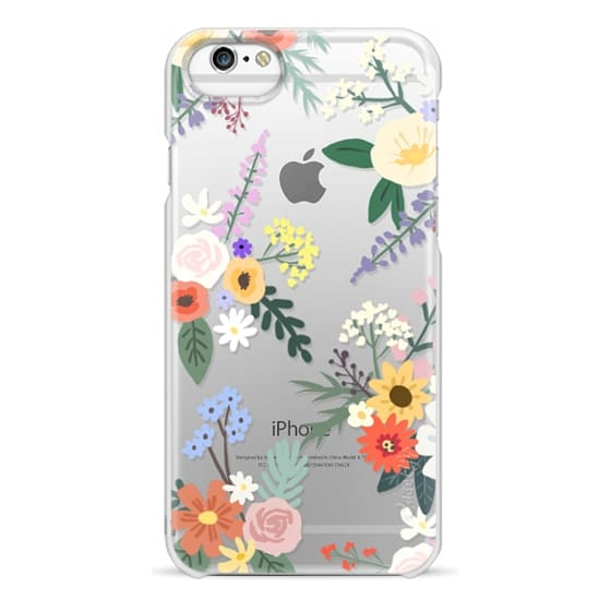 iPhone 6 Cases - ALLIE ALPINE FLORALS