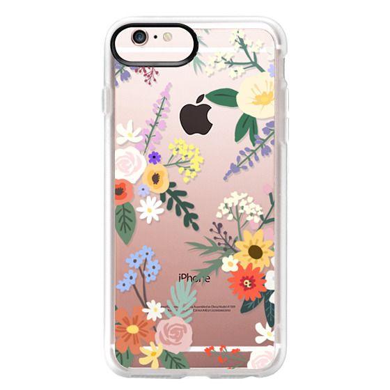 iPhone 6s Plus Cases - ALLIE ALPINE FLORALS