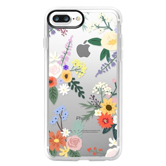 iPhone 7 Plus Cases - ALLIE ALPINE FLORALS