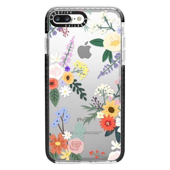iPhone 7 Plus Cases - ALLIE ALPINE FLORALS