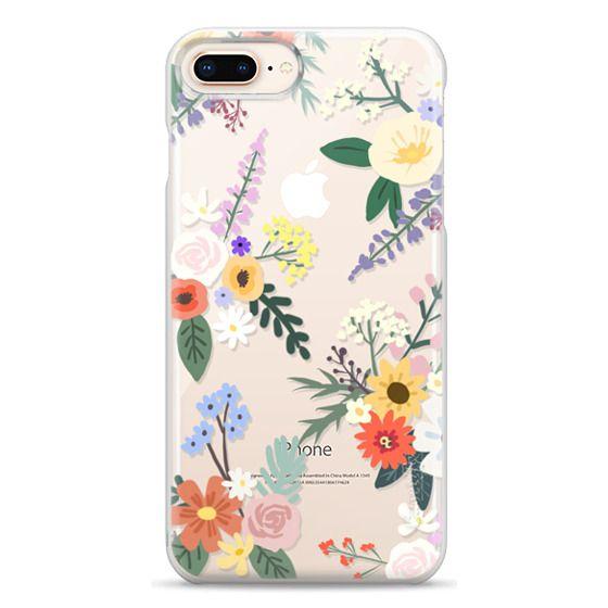 iPhone 8 Plus Cases - ALLIE ALPINE FLORALS