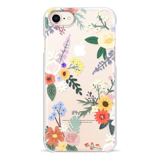 iPhone 8 Cases - ALLIE ALPINE FLORALS