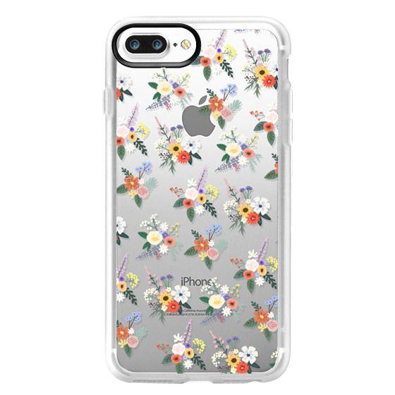 iPhone 7 Plus Cases - ALLIE ALPINE FLORALS - DITSY