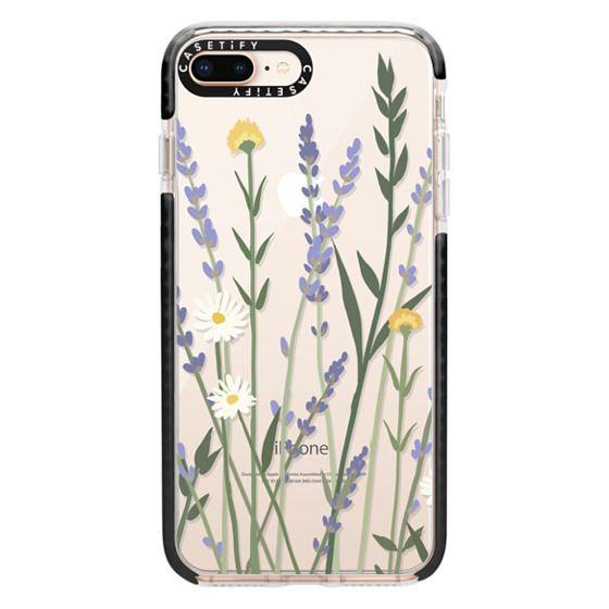 iPhone 8 Plus Cases - LANA LAVENDER MIX