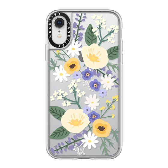 iPhone XR Cases - VERONICA VIOLET FLORAL MIX